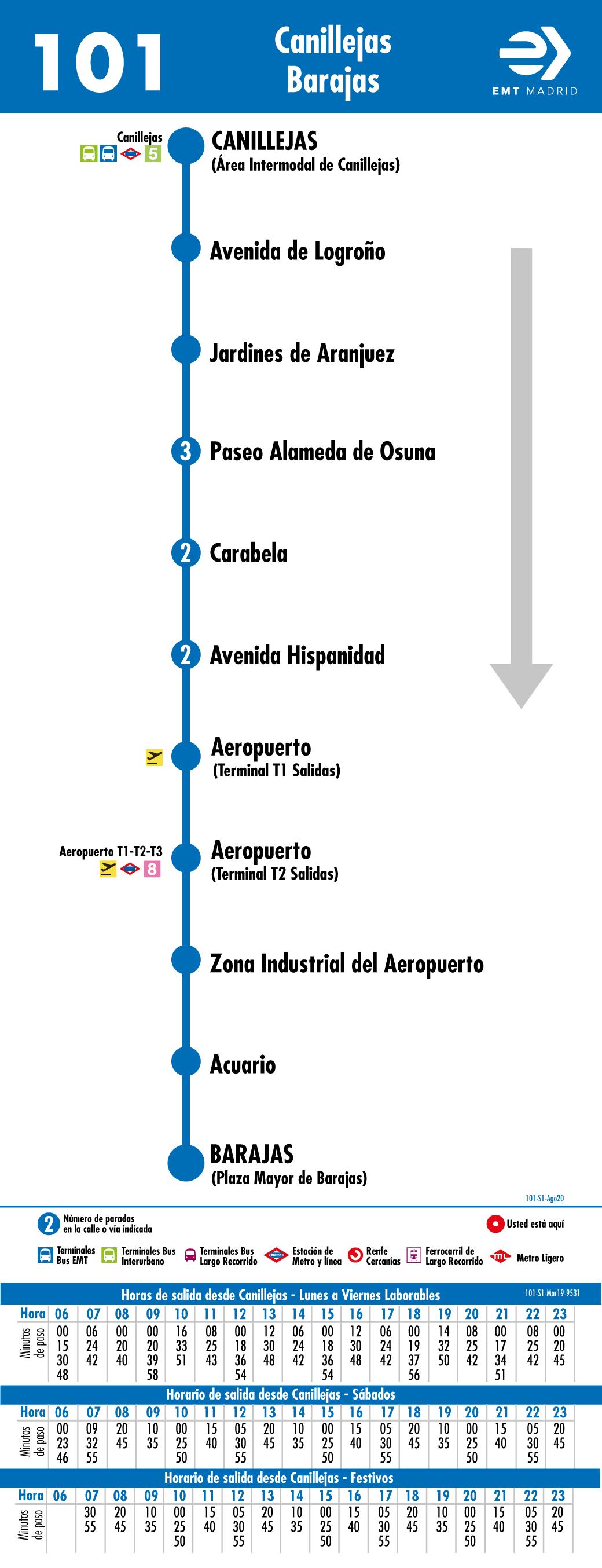 автобус (Линия 101) от