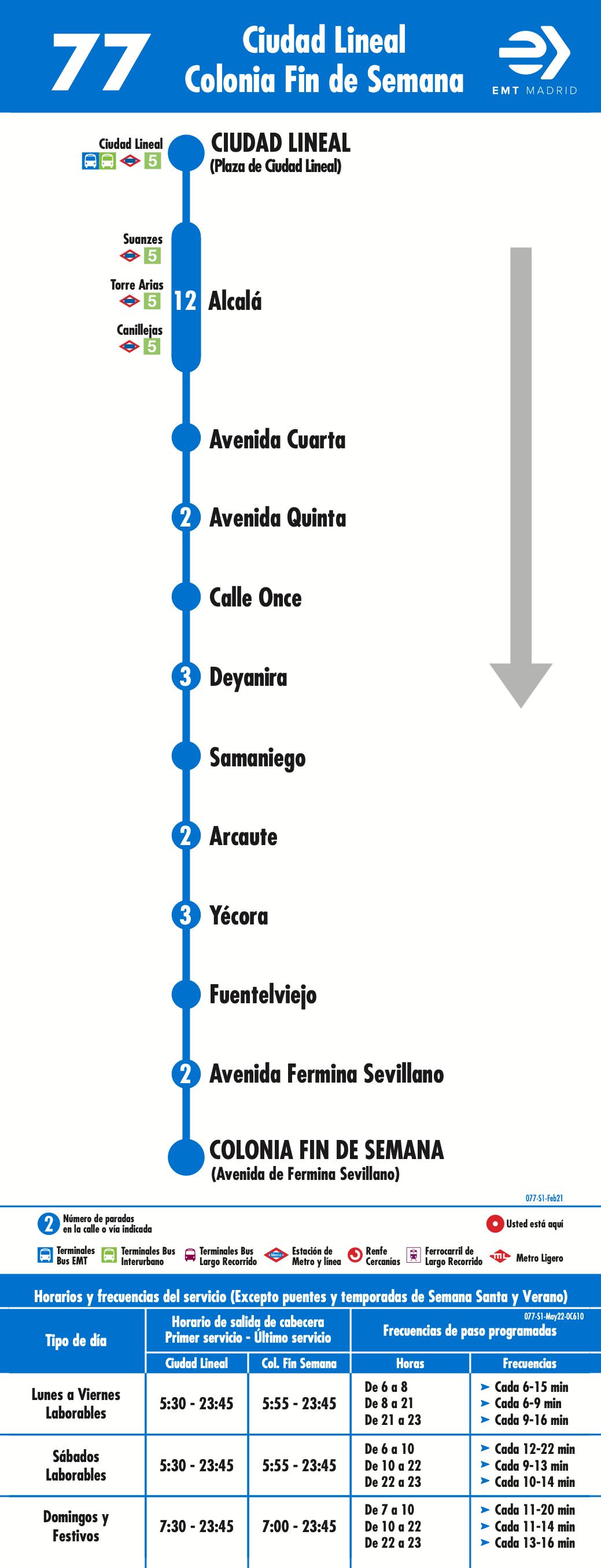 Líneas de autobús al nuevo estadio Wanda Metropolitano | es por madrid